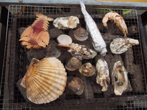 牡蠣小屋の画像