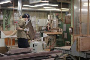 家具工場の画像