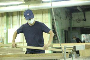 SOLID家具工場の様子