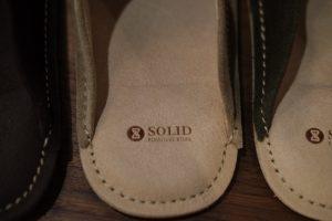 SOLIDスリッパの画像