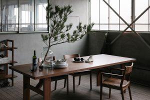 SOLID家具 ダイニングテーブル