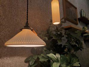 陶器 照明