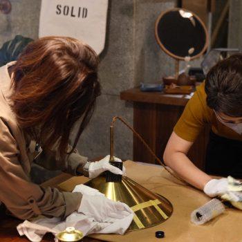 真鍮磨き SOLID福岡 スタッフ