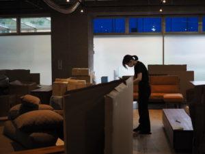 SOLID福岡店オープン準備の様子