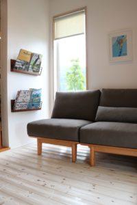 アームレスソファ SLC02 美容室の待合室