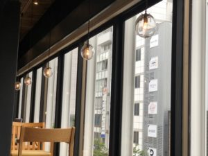 SOLID名古屋店の雑貨の照明